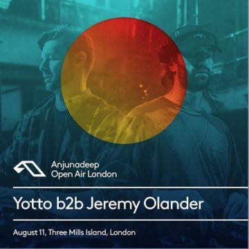 Jeremy Olander y Yotto Anjunadeep Open Air London, Reino Unido