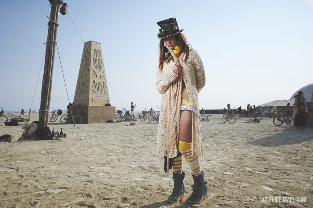 Burning man Outfit mujer